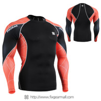 FIXGEAR C3L-B70R Compression Base Layer Shirts