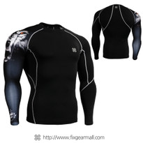 FIXGEAR CP-B18 Compression Base Layer Shirts