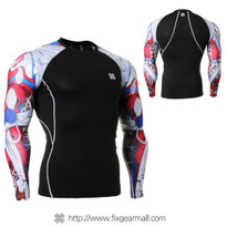 FIXGEAR CPD-B19R Compression Base Layer Shirts