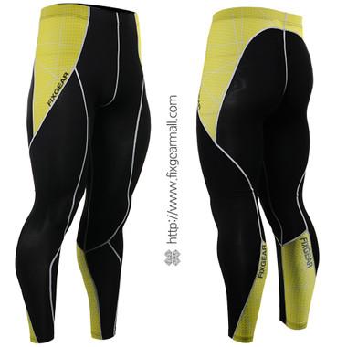 FIXGEAR P2L-B70Y Compression Leggings Pants