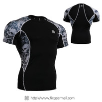 FIXGEAR C2S-B40 Compression Shirts Base Layer Short Sleeve