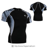 FIXGEAR C2S-B41 Compression Shirts Base Layer Short Sleeve