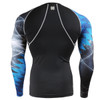 FIXGEAR CPD-B65 Compression Base Layer Shirts Back View