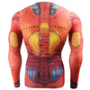 FIXGEAR CFL-8 Compression Base Layer Shirts Rear
