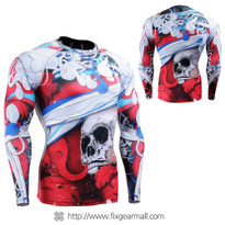 FIXGEAR CFL-19R Compression Base Layer Shirts