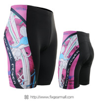 FIXGEAR ST-W19P Women's Cycling Padded Shorts