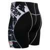 FIXGEAR P2S-B17 Compression Short Sleeve Shorts Rear