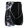 FIXGEAR P2S-B17 Compression Short Sleeve Shorts Front
