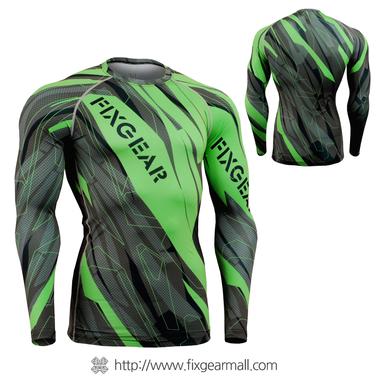 FIXGEAR CFL-68G Compression Base Layer Shirts