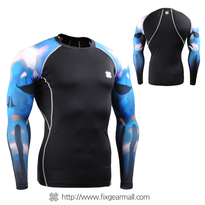 FIXGEAR CPD-B64B Compression Base Layer Shirts