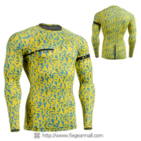 FIXGEAR CFL-g6Y Compression Base Layer Shirts
