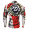 FIXGEAR CS-501 Men's Cycling Jersey long sleeve back view
