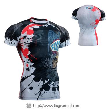 FIXGEAR CFS-44 Compression Base Layer Short Sleeve Shirts