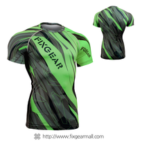 FIXGEAR CFS-68G Compression Base Layer Short Sleeve Shirts