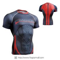 FIXGEAR CFS-72 Compression Base Layer Short Sleeve Shirts