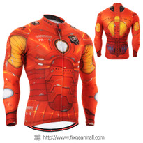 FIXGEAR CS-801 Men's Cycling Jersey long sleeve