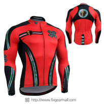 FIXGEAR CS-7601 Men's Long Sleeve Cycling Jersey