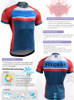 FIXGEAR CS-7702 Men's Short Sleeve Cycling Jersey