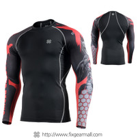 FIXGEAR CPD-BH4 Compression Base Layer Shirts