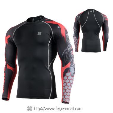 FIXGEAR CPDB77 Compression Base Layer Long Sleeve Shirts 9e4ea4e851f