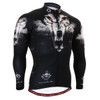 FIXGEAR CS-1801 Men's Cycling Jersey long sleeve front view