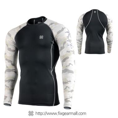 FIXGEAR CPD-BM1Y Compression Base Layer Shirts