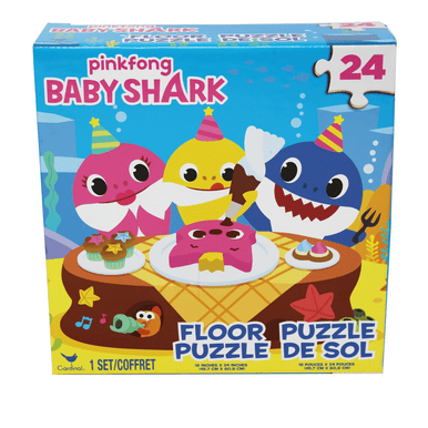 24 chunky pieces that give hours of fun to your child.