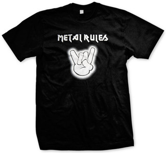 Metal Rules T-shirt
