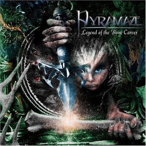 Pyramaze - Legend of the Bone Carver CD