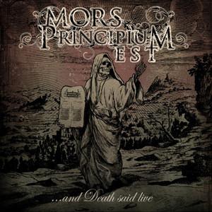 Mors Principium Est - Death Said Live - CD