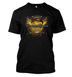 Seventh Wonder - Golden Crest T-Shirt