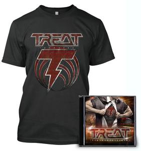 Treat - Tunguska - T-Shirt & CD Bundle