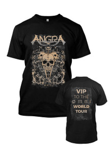 Angra - Tan Skull Tour Shirt