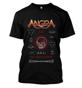 Angra - OMNI Red Skull Shirt