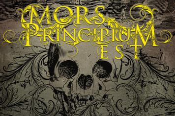 "Mors Principium Est - 4"" x 6"" Sticker"
