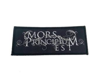 Mors Principium Est - Logo Patch
