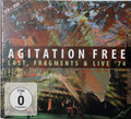 Agitation Free -  Last, Fragments, Live 73 + Live 2013 DVD 3 lps on 3 cds and 1 dvd remastered