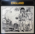 England - same  lp  reissue