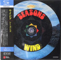 Wind - Seasons Japanese mini lp SHM-CD