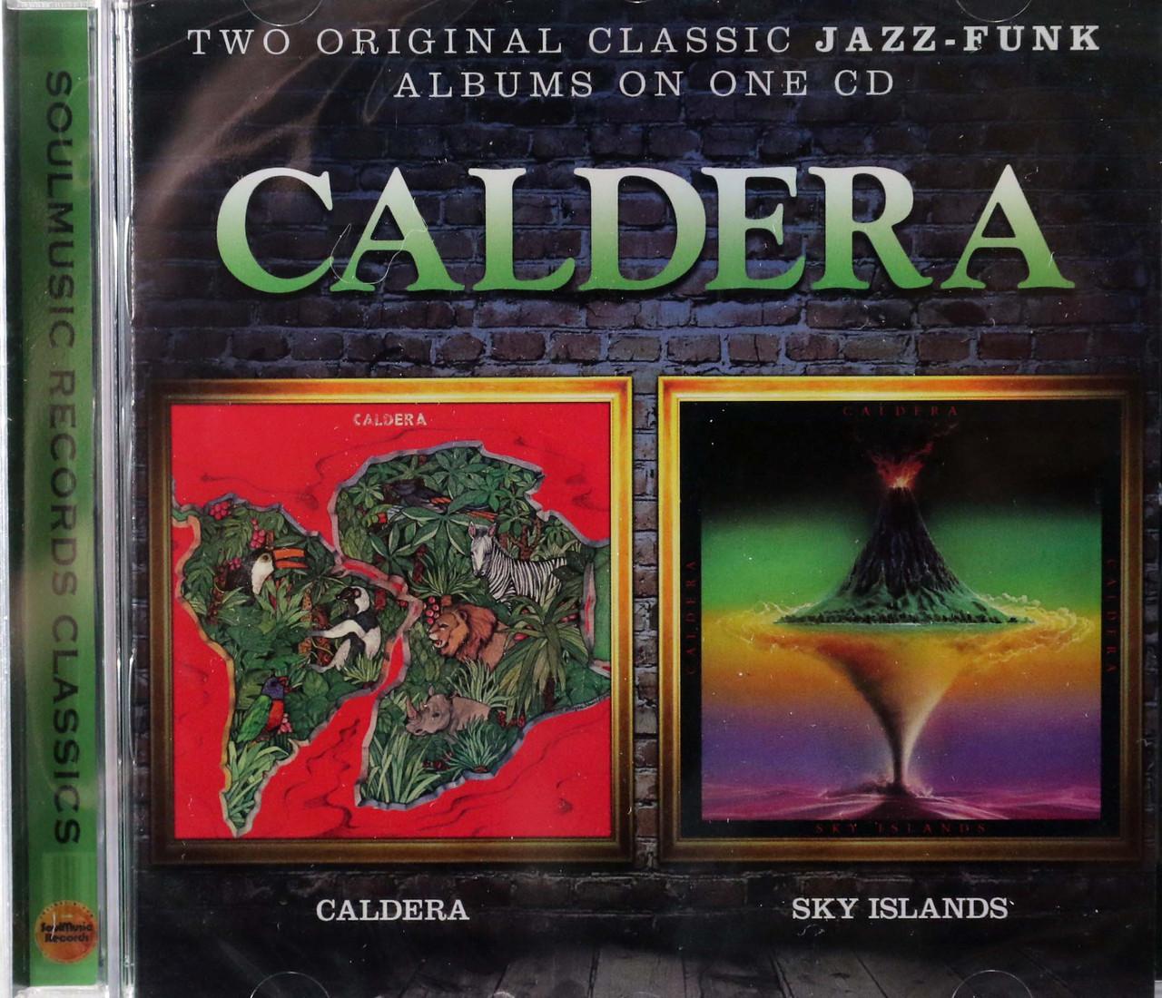 Caldera - same + Sky Islands on 1 cd