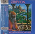 Gryphon - Red Queen to Gryphon Three    Japanese mini lp SHM-CD