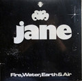 Jane - Fire Water Earth & Sky   lp reissue