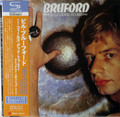 Bruford - Feels Good to Me  Japanese mini lp SHM-CD