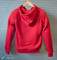 Ladies Red Kevlar Hoodie Back