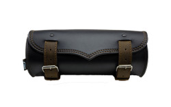 Motorcycle Tek Leather Tool Bag Brown - 559
