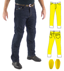 881 - Raw Blue Fully Lined 500gsm Kevlar Jeans