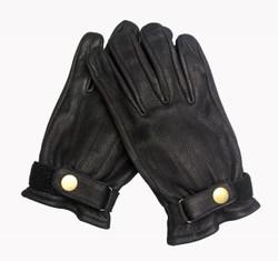 Mens Black Cruiser Gloves - Model 106