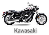 Kawasaki Saddle Bag Motorcycle Brackets