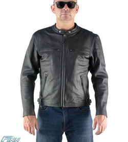 moto leather jacket mens. combination of motorcycle \u0026 fashion in one great jacket moto leather mens m
