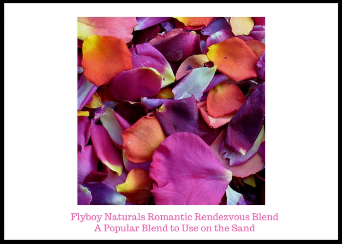 Rose Petals On The Sand Flyboy Naturals Inc